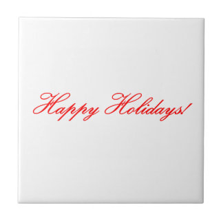 Happy Holidays! Tile