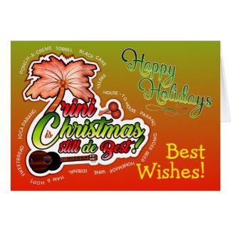 Happy Holidays / Trini Christmas Card