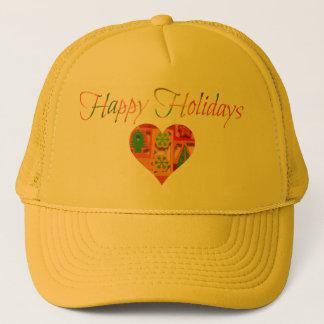 Happy Holidays Trucker Hat
