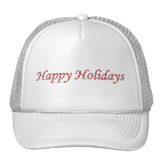 Happy Holidays Tshirts Cap