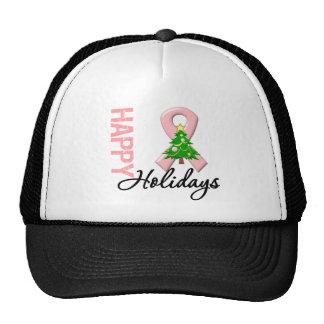 Happy Holidays Uterine Cancer Awareness Hat