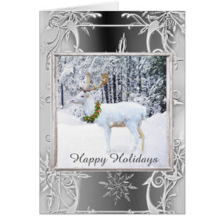 Happy Holiday's with Inside Greeting Card
