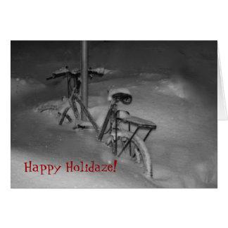 Happy Holidaze! Holiday Card
