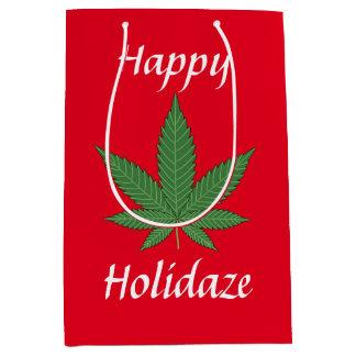 Happy Holidaze Personalised Medium Gift Bag