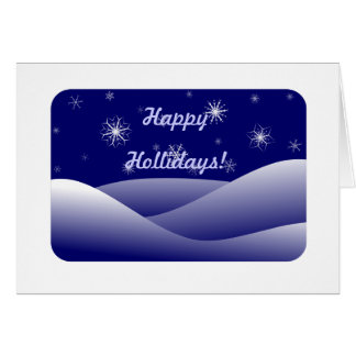 Happy Hollidays 1 Greeting Card