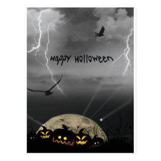 Happy Holloween Postcard
