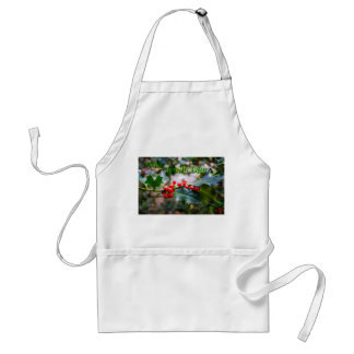 Happy Holly Day Standard Apron