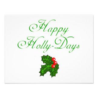 Happy Holly Days Apparel Stocking Stuffers Invitations