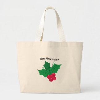 Happy Holly-Days! Bags