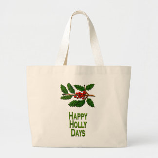 Happy Holly Days Bags