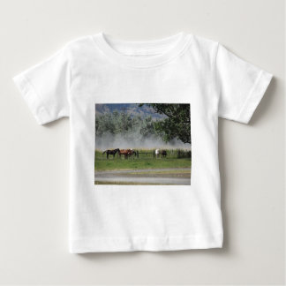 Happy Horses Baby T-Shirt