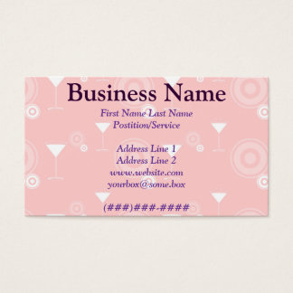 Happy Hour Business Card