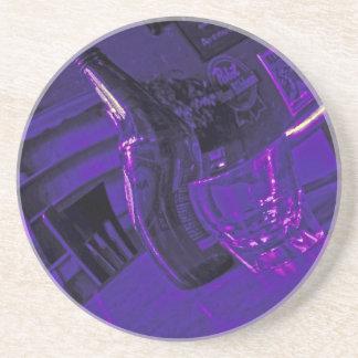 Happy Hour Coaster Purple