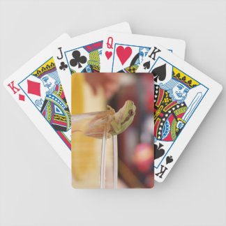 Happy Hour Frog Playing Cards