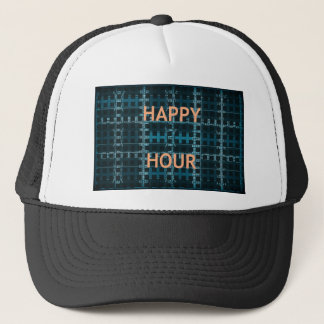 Happy Hour  just feel happy Trucker Hat