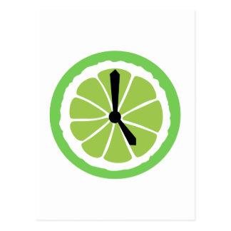 Happy Hour Lime Postcard