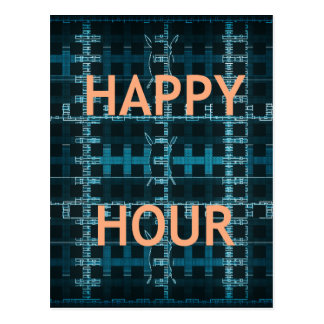 Happy Hour Postcard