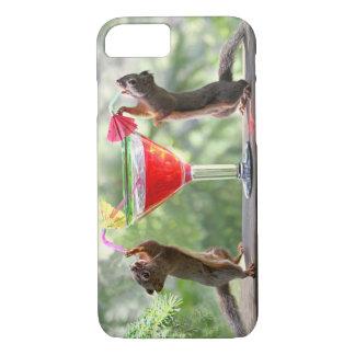 Happy Hour Squirrels iPhone 8/7 Case