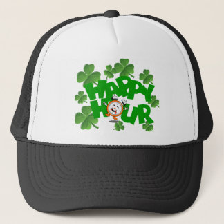 Happy hour St Patrick's design Trucker Hat