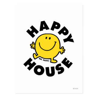 Happy House Post Card
