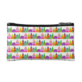 happy houses small cosmetic bag