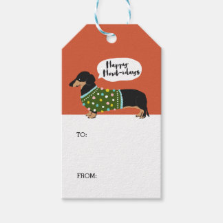 Happy Howl-idays Gift Tags