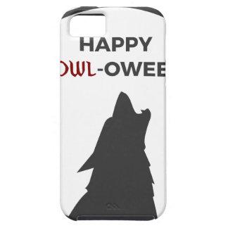 Happy Howl-oween Werewolf Halloween Design Case For The iPhone 5