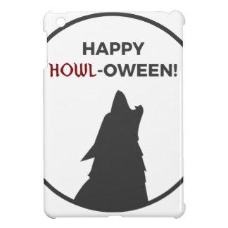 Happy Howl-oween Werewolf Halloween Design iPad Mini Case