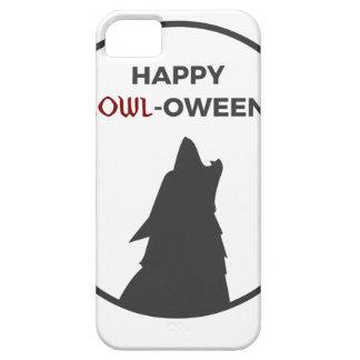 Happy Howl-oween Werewolf Halloween Design iPhone 5 Case