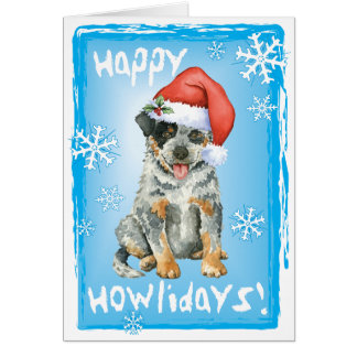 Happy Howliday ACD Greeting Card