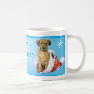 Happy Howliday Border Terrier Coffee Mug