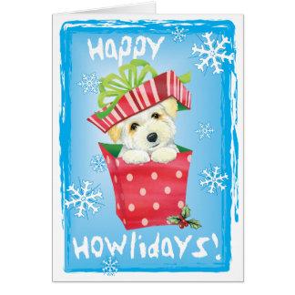 Happy Howliday Coton Card