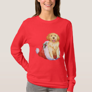 Happy Howliday Golden Retriever T-Shirt
