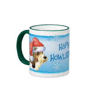 Happy Howliday PBGV Coffee Mug