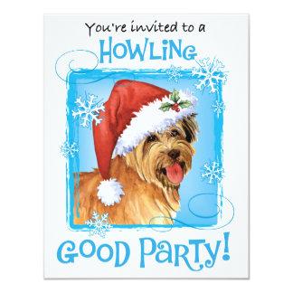 Happy Howliday Pyrenean Shepherd Card