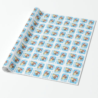 Happy Howliday St. Bernard Wrapping Paper