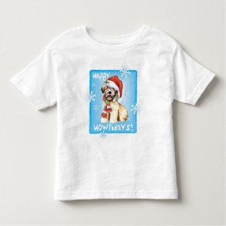 Happy Howliday Wheaten Toddler T-Shirt