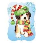 Happy Howlidays Beagle 13 Cm X 18 Cm Invitation Card