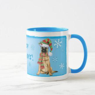 Happy Howlidays Belgian Malinois Mug