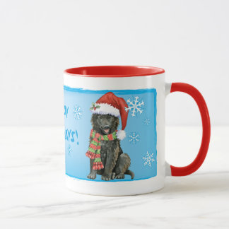 Happy Howlidays Belgian Sheepdog Mug