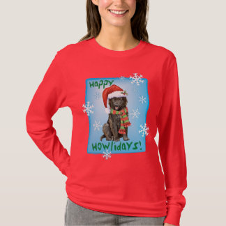 Happy Howlidays Belgian Sheepdog T-Shirt