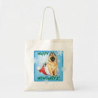 Happy Howlidays Belgian Tervuren Tote Bag