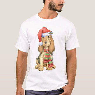Happy Howlidays Bloodhound T-Shirt