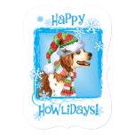 Happy Howlidays Brittany 13 Cm X 18 Cm Invitation Card