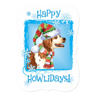 Happy Howlidays Brittany Card