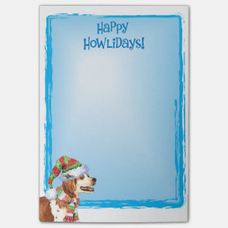 Happy Howlidays Brittany Post-it® Notes