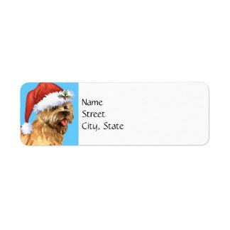 Happy Howlidays Cairn Terrier Return Address Label