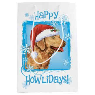 Happy Howlidays Chessie Medium Gift Bag