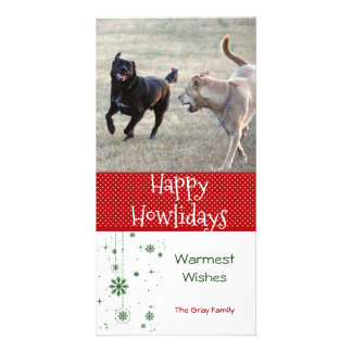 Happy Howlidays | Dog Christmas Photo Card