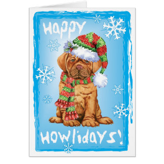 Happy Howlidays Dogue Card